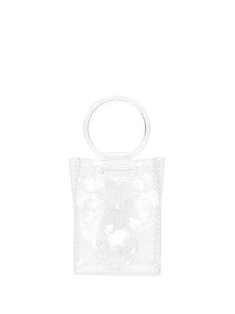 Mame Kurogouchi transparent mini tote bag MM9AC096 - Farfetch