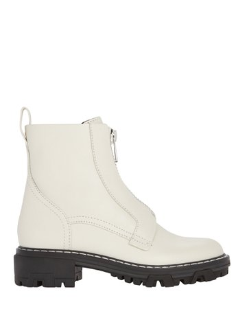Rag & Bone Shiloh Leather Combat Boots | INTERMIX®