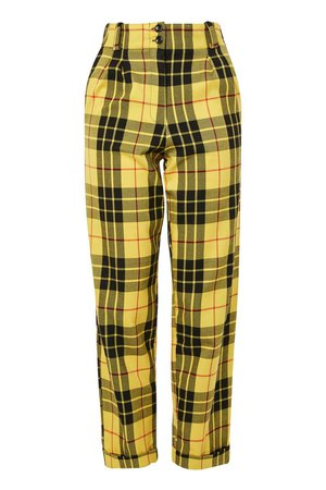 Yellow Flannel Pants