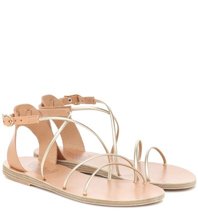 Meloivia Leather Sandals - Ancient Greek Sandals | Mytheresa