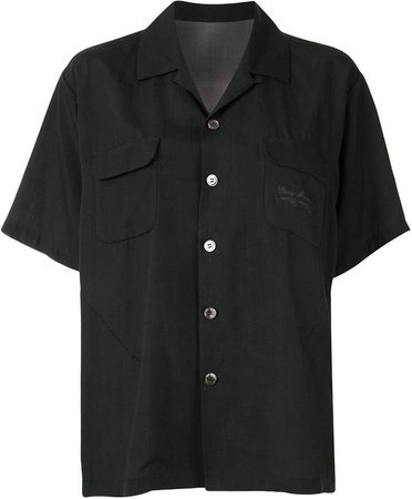 Graphic Print Short-Sleeve Shirt