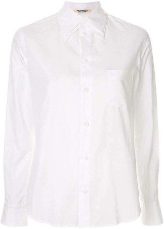 double collar button-up shirt