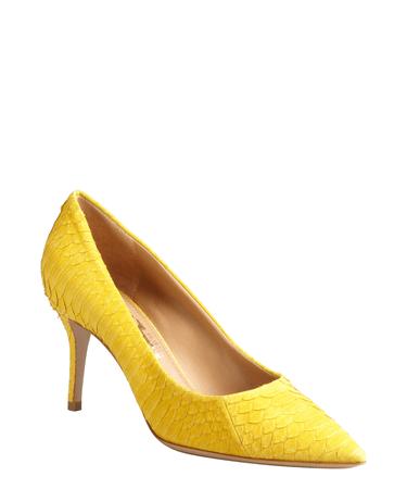 ferragamo yellow