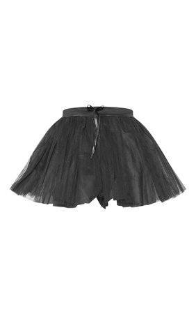 Black Basic Tutu Skirt | Accessories | PrettyLittleThing USA