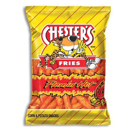 Chester's Flamin' Hot Fries - 1.75 Ounce Bags - Candy Corner