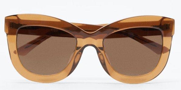 Zara tortoise shell sunglasses