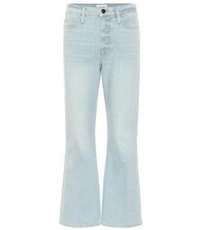 Frame - Le Sylvie high-rise bootcut jeans | Mytheresa