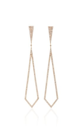 Chrysler 18K Gold And Diamond Earrings by Eva Fehren | Moda Operandi