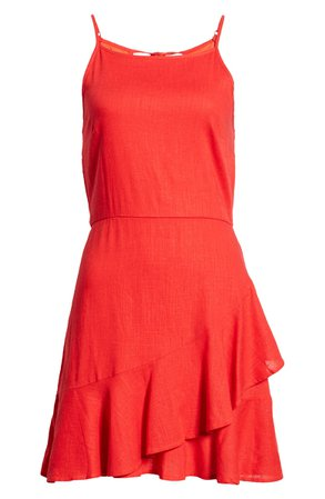 Band of Gypsies Roma Minidress red