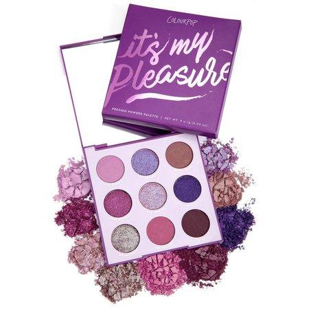 It's My Pleasure Purple Eyeshadow Palette   ColourPop