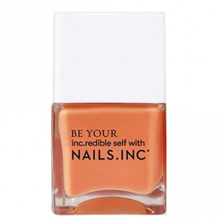 Nails inc Kiss My Peach Nail Polish Collection - Hot Fuzz 14ml (12500)