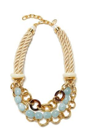 Marbella Necklace by Lizzie Fortunato   Moda Operandi