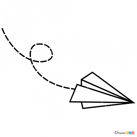 665 X 665 2 - Paper Plane Tattoo Draw Clipart - Full Size Clipart (#3413489) - PinClipart