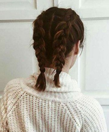 short hair french braids - Google Search