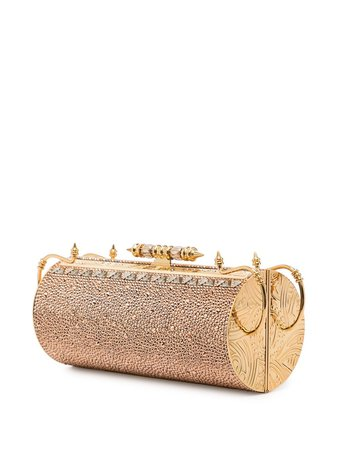 OKHTEIN Felucca Swarovski-embellished Clutch Bag - Farfetch