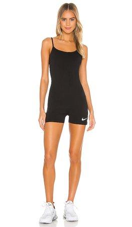 Nike Indio Romper in Black   REVOLVE