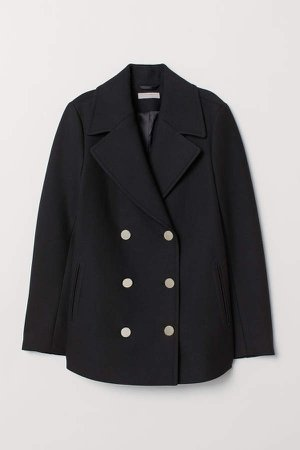Pea Coat - Black