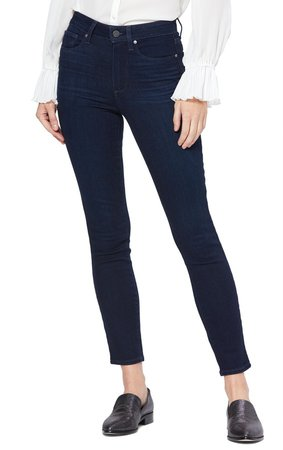 Transcend Hoxton High Waist Ankle Skinny Jeans