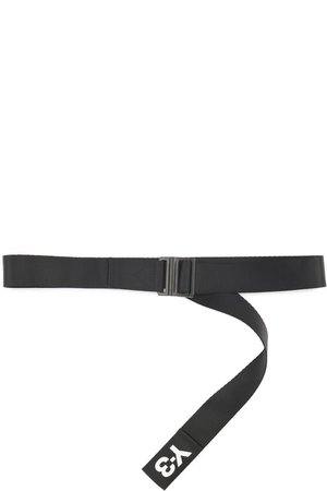 Y-3  Classic Logo Belt - Black  ($80)