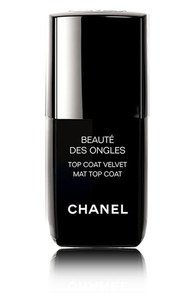 CHANEL MATTE BLACK NAIL POLISH on The Hunt