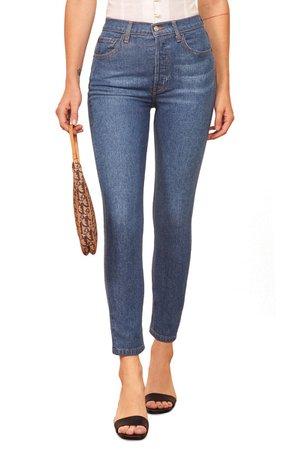 Reformation Serena High Waist Skinny Jeans   Nordstrom