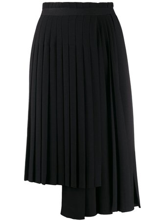Ermanno Scervino asymmetric pleated skirt £1,010 - Shop Online. Same Day Delivery in London