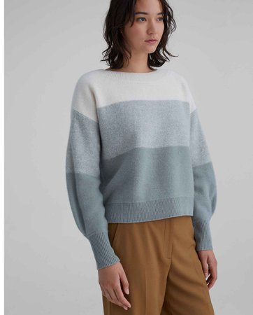 Boiled Cashmere Boatneck Sweater