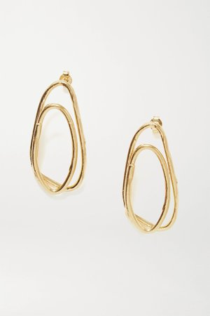 Gold The Rhymes of Love gold-plated earrings | Alighieri | NET-A-PORTER