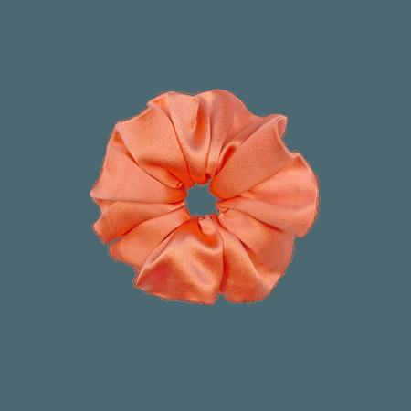 Christie Scrunchie in Peach