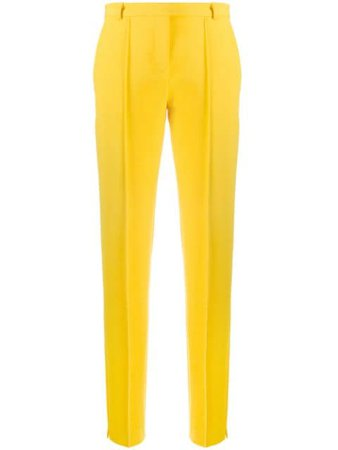 Styland high-rise Tailored Trousers - Farfetch