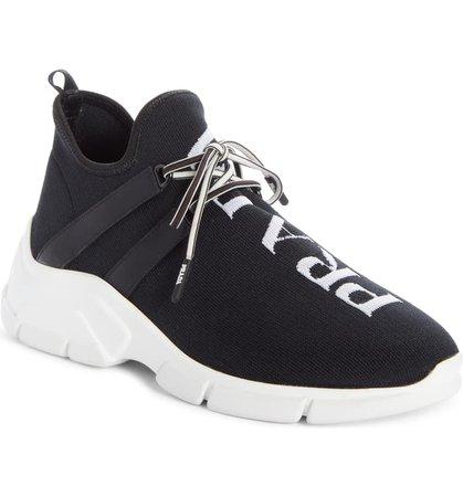 Prada Knit Sock Sneaker (Women) | Nordstrom
