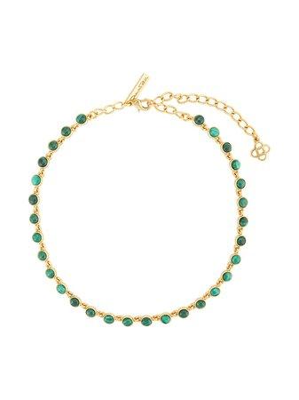 Oscar De La Renta, Encrusted Necklace