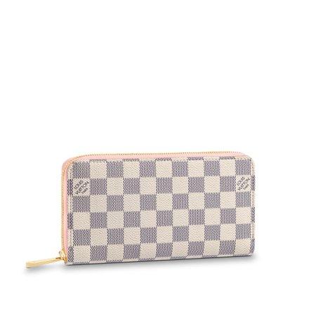 Zippy Wallet Damier Azur Canvas - Small Leather Goods | LOUIS VUITTON ®