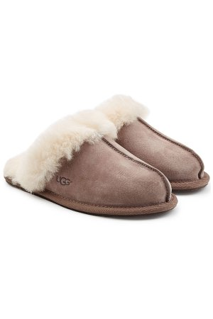 Scuffette Suede Slippers Gr. US 10