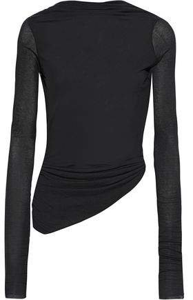 Open-back Twisted Jersey Top