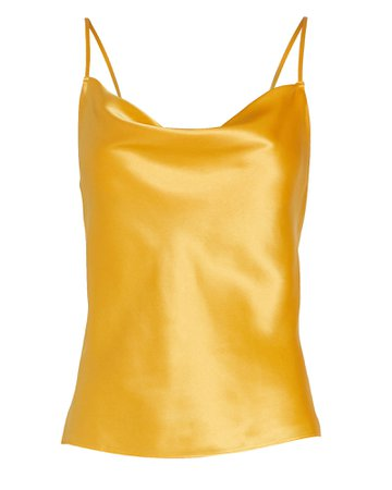 INTERMIX Private Label | Fayette Cowl Neck Silk Camisole | INTERMIX®