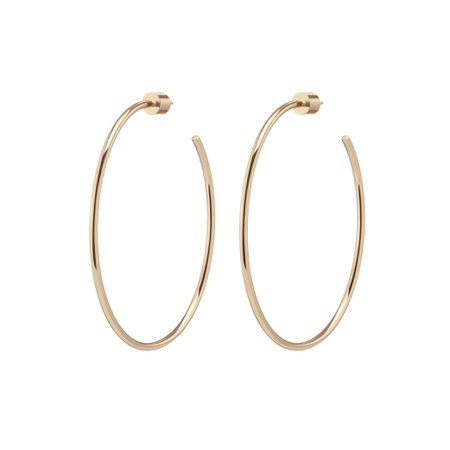 "2"" Thread Hoops – Jennifer Fisher"