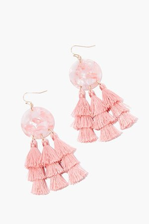 Tiered Tassel Drop Earrings | Forever 21