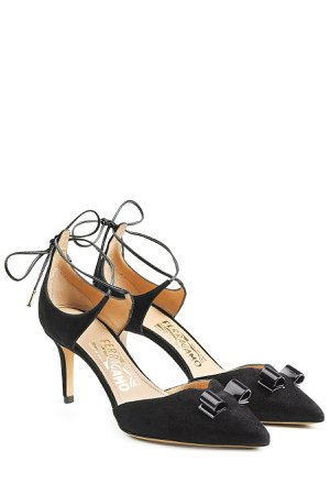 Carolyn Suede Kitten Heels Gr. US 7.5