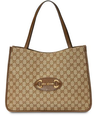 Shop Gucci Gucci 1955 Horsebit tote bag with Express Delivery - FARFETCH