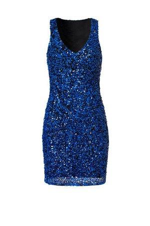 Deep Blue Dress by Parker