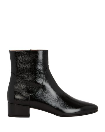Patent Leather Boots | INTERMIX®