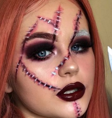 Chucky Makeup