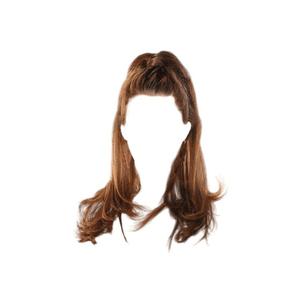 red or brown hair