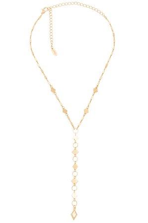 Layered Kite Lariat Necklace