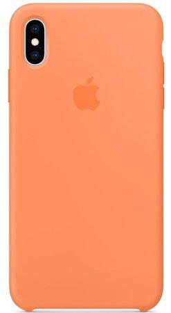 orange iphone xs case