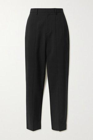 Piper Woven Straight-leg Pants - Black