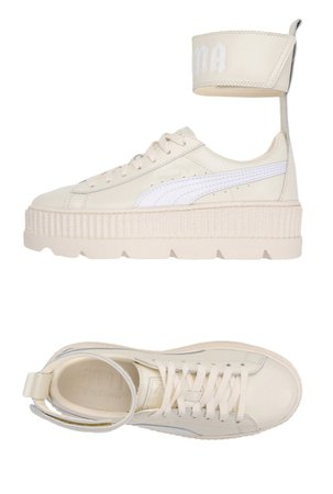 Fenty Puma ankle strap creepers