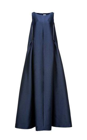 Addison Satin Trapeze Gown by Huishan Zhang | Moda Operandi