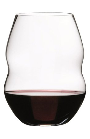 Riedel Swirl Set of 2 Stemless Wine Glasses | Nordstrom